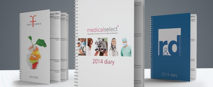 Personalised Diaries and Calendars from Kall Kwik